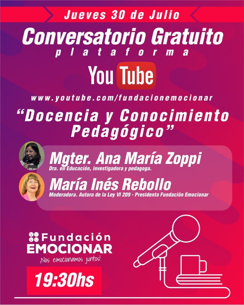 CONVERSATORIO 30 DE JULIO